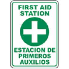 First Aid Safety Signs and Decals 09