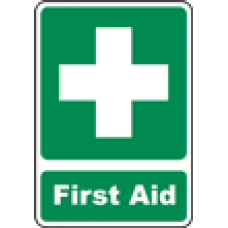 First Aid Safety Signs and Decals 12