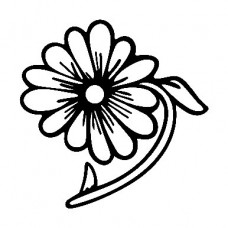 Flower Decal5