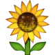 FLOWER Emoji_Sunflower
