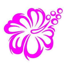 Flower TRIBAL HIBISCUS sticker