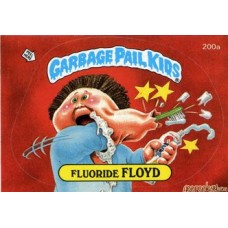 Fluoride FLOYD Funny Sticker Name Decal