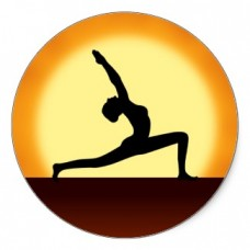 Full Color Yoga Stickers 15