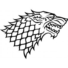 game of thromes house of stark diecut decal