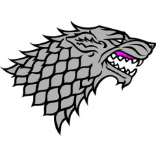 Game of Thrones House of Stark Decal Color
