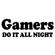 Gamers Decal 41