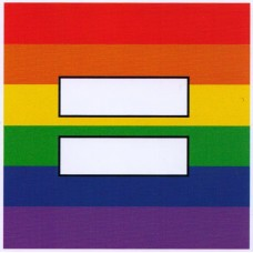Gay Pride EQUAL Stickers