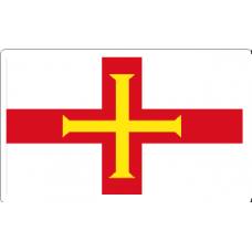 Guernsey Flag Decal