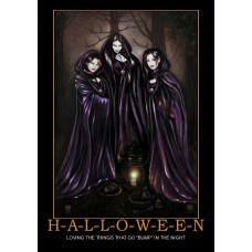 halloween love hawt witches