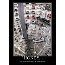 honey car park demotivational