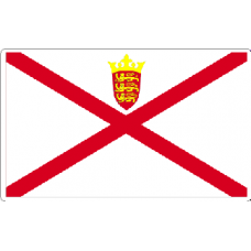 Jersey Flag Sticker