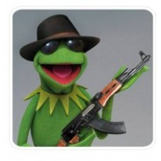 Kermit the Frog Decal 1