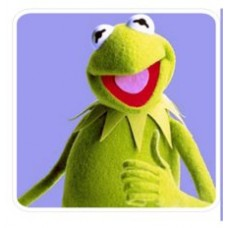 Kermit the Frog Decal 2