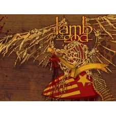 Lamb of God 2 Color Band Decal