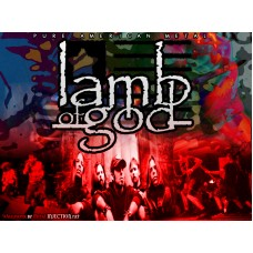Lamb of God Color Band Decal