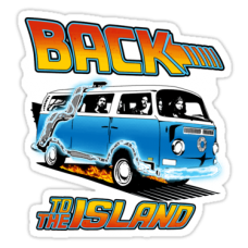 LOST Back To The Island Sticker