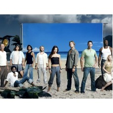 LOST Cast Wallpaper Decal