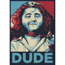 Lost Hurley DUDE Sticker