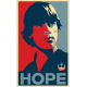Luke Sky Walker for Presidet HOPE Sticker