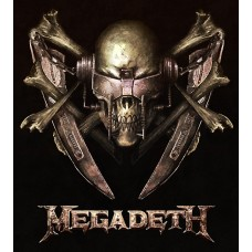 Megadeth Color Band Decal