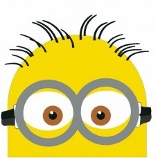 Minion Color Peeper Sticker 2
