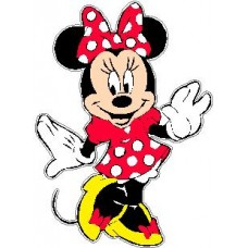 Minnie Mouse Decal 33