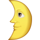 MOON EMOJI_FIRST_QUARTER_WITH_FACE