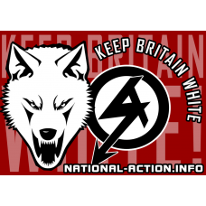 national action sticker