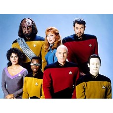 Next Generation Star Trek Group Photo