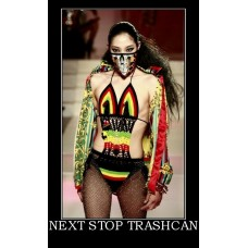 next stop trashcan fashion dress funny