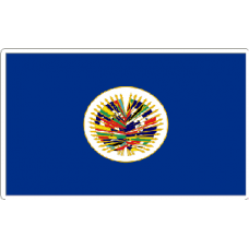 Oas Flag Sticker