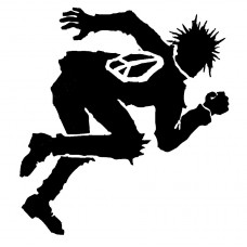 Operation Ivy Guy 2 Band Vinyl Decal Sticker