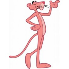 Pink Panther Car Stickers 3