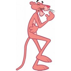 Pink Panther Car Stickers 5