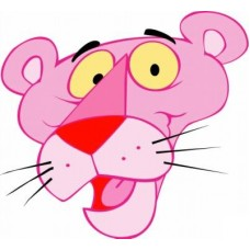 Pink Panther Car Stickers 7
