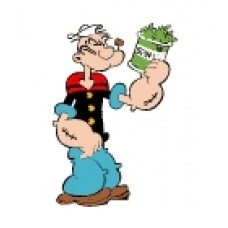 Popeye Sticker Spinach
