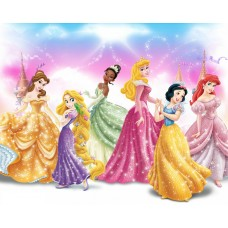 Princesses Wallpaper Sticker