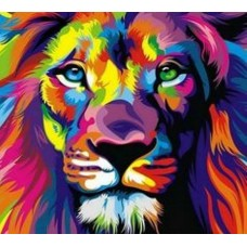 psychedelic animals car window or wall decal 3
