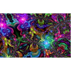 psychedelic art stickers wall decal 02