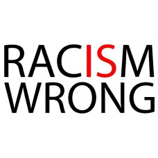 racism is wrong sticker