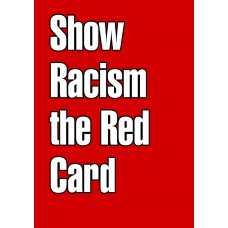 racism red card sticker