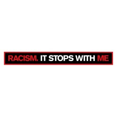 RACISM STOPS WITH ME STICKER 2