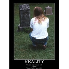 -reality death