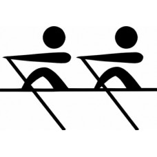rowing boating decal 2