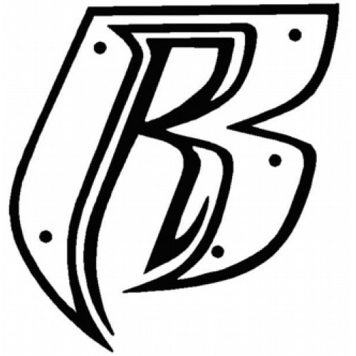 Ruff Ryders R Logo 2 Decal Sticker
