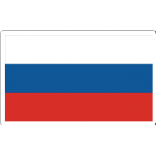 Russia Flag Decal