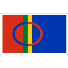 Sami Flag Decal