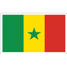 Senegal Flag Decal