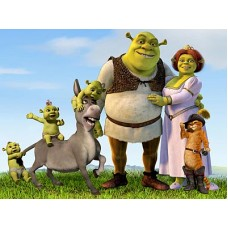 Shrek Decals and Vinyl Wall Graphics 12