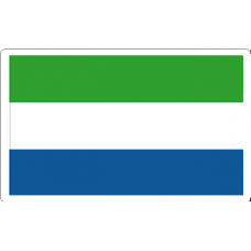 SierraLeone Flag Decal